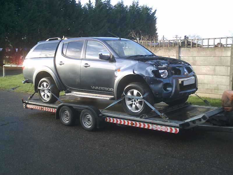 Sell Diesel Vehicle to Wellington Wreckers